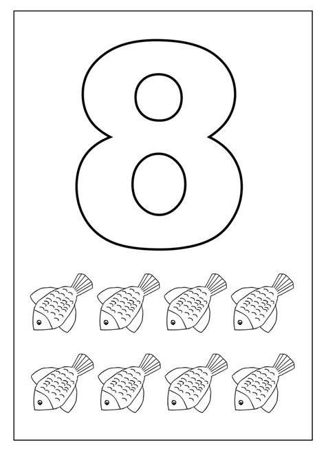 number 8 worksheets for children worksheets 584 | aba34f74b75e4dc4fdcbbf7c458253da kids worksheets number worksheets