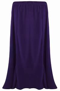 Skirt Gypsy Ladies Long Size Maxi Womens Jersey Dress New Elastic Waist UK 12-22 | eBay