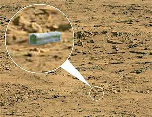 NASA's Curiosity Rover spots alien coffin on Mars : World ...