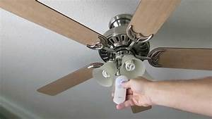 Hunter state street ceiling fan with remote review not