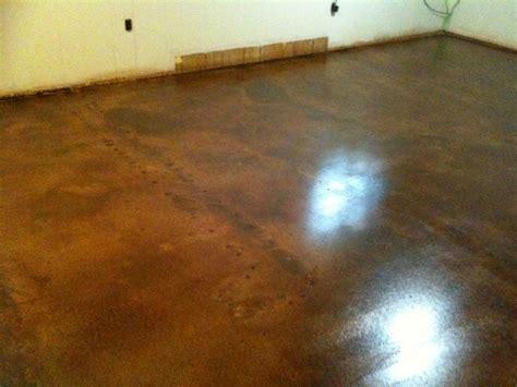 Interior Concrete Floor Ideas Decorative Concrete Of