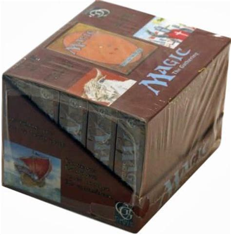 Mtg Alpha Starter Deck Box by Beta Starter Box Of 10 Decks Mtg Magic The Gathering