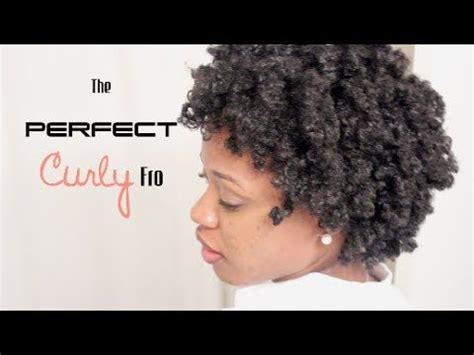 perfect curly fro   hair twists natural