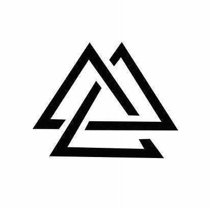 Triangle Tattoo Triple Minimal Designs Ink Meaning