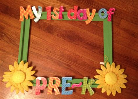 First Day Of Pre-k Frame