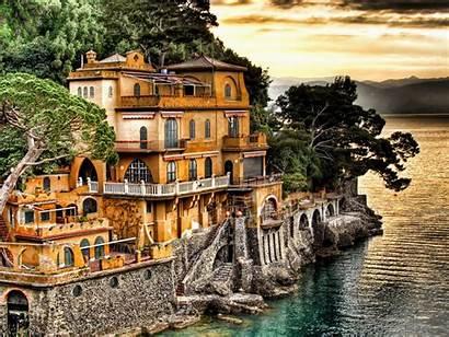 Italy Genoa Wallpapers Italian Town Italie Desktop