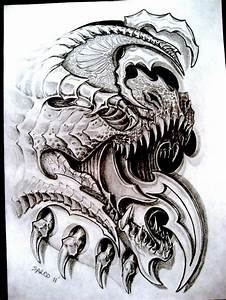 Biomech dragon by sarcovenator on DeviantArt