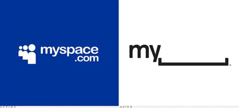 Brand New Myspace Goes Blank