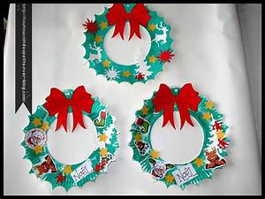 Faire Une Couronne De Noel : couronne de noel le blog de nounoucoindespetits ~ Preciouscoupons.com Idées de Décoration