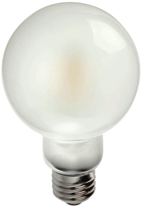led g25 globe filament look frosted bulbs dia 3 15