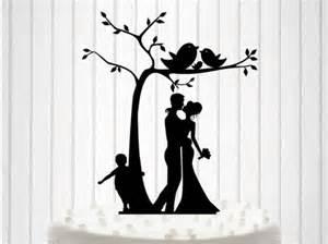 knit family wedding cake topper cake decor silhouette