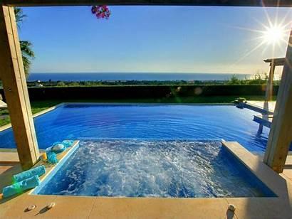 Jacuzzi Sea Villa Pool Luxury Exotic Ocean