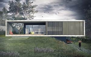maison contemporaine a caluire en beton sur un terrain en With maison en beton banche 2 mlel dank architectes