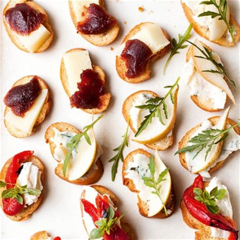cheap canapes recipes crostini