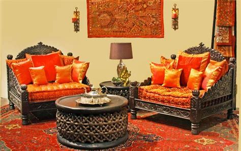 jhula single seat indian carved furniture chair