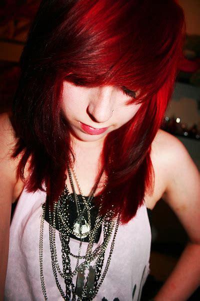 Cute Dark Red Hair Colors Ideas