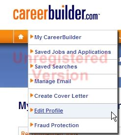 How To Edit Your Resume On Careerbuilder by How Do I Unsubscribe From Careerbuilder Emails