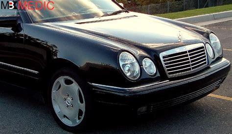 diy w210 e class headlight how to upgrade remove1996 2002