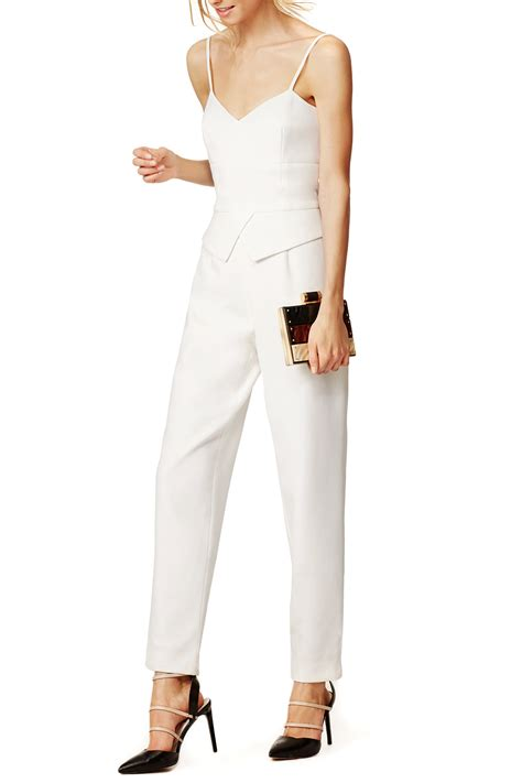 all white jumpsuit for what to wear to an all white white