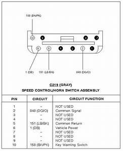 Horn Relay Location 1997 F-250 Hd