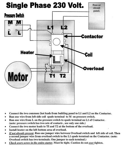 air compressor magnetic starters mastertoolrepaircom