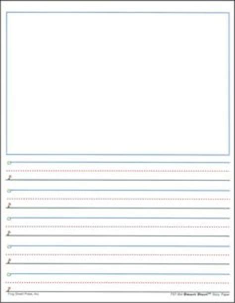 printable kindergarten writing paper clipart