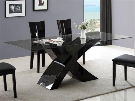 esstisch glas hochglanz hollis schwarz g 252 nstig kaufen