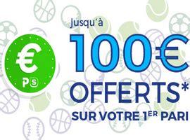 code promotionnel parionssport web fdj 100 euros offerts