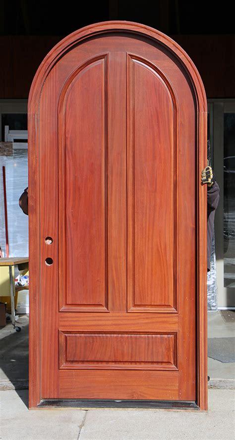 top mahogany doors