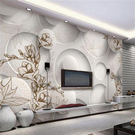 3d Wallpaper Deco continental minimalist living room tv background wallpaper