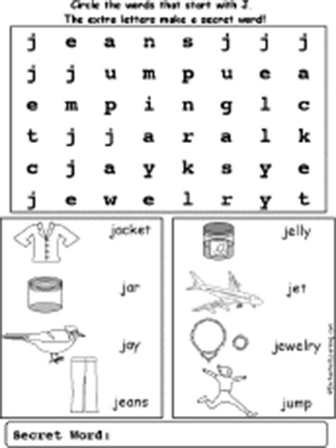 two letter j words letter j alphabet activities at enchantedlearning 25327