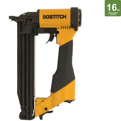 bostitch flooring staples home depot bostitch 2 in pneumatic lathing stapler nailer 450s2 1