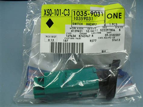 gm 03 04 05 chevrolet impala hazard warning switch turn signal flasher 10359031 ebay