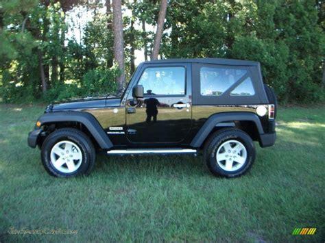 car jeep black 2010 jeep wrangler sport 4x4 in black 110311 jax