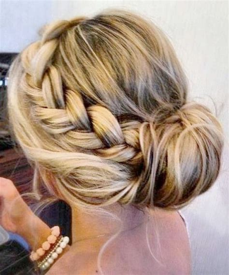 Updo Hairstyles With Braid by 20 Pretty Braided Updo Hairstyles Popular Haircuts