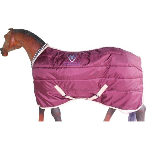gng  horse stable rug  maroon guts  glory