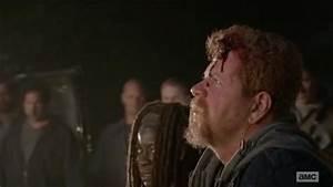 The Walking Dead boss has revealed why Glenn died in gory ...