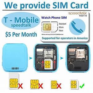 Kids Smart Watch Phone With Sim Card  Speedtalk  For Girls