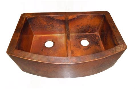 double bowl apron front sink rounded apron front farmhouse kitchen double bowl mexican
