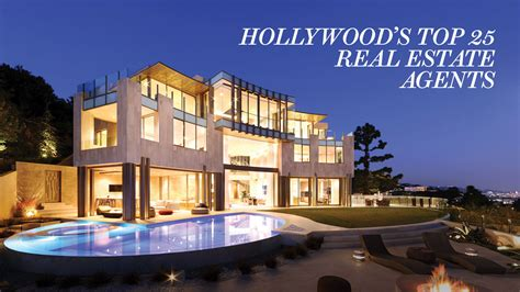 Hollywood's Top 25 Real Estate Agents  Hollywood Reporter