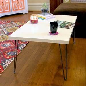 Hairpin Tischbeine Ikea : mid century modern hairpin leg ikea hack coffee table home decorating pinterest hairpin ~ Eleganceandgraceweddings.com Haus und Dekorationen