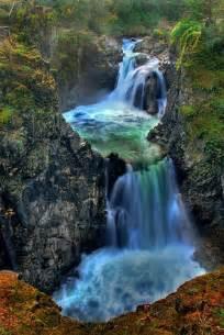 Waterfalls Vancouver Island Canada