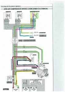 Arb Ckma12 Compressor - Under Bonnet Wiring