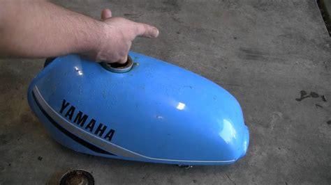 tank gas motorcycle rust remove clean rusty vinegar less than dollars