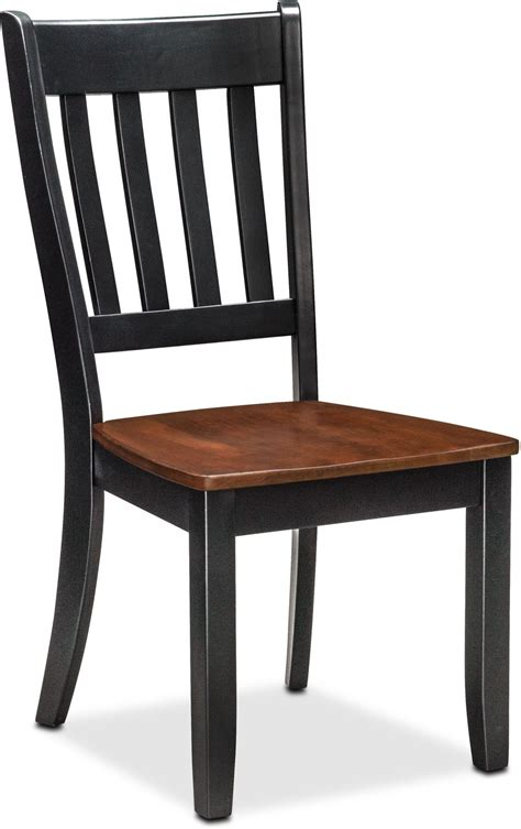 trestle table and chairs nantucket trestle table and 4 slat back chairs black and