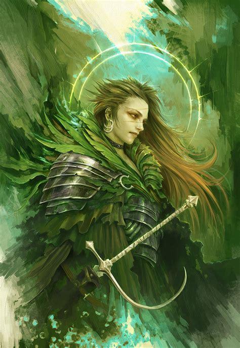 artstation  green knight alexandre chaudret