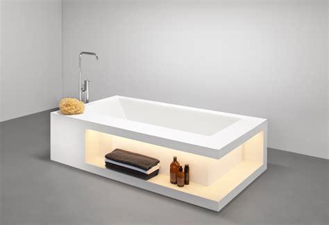 rangement tiroir cuisine baignoire design avec rangements en betacryl