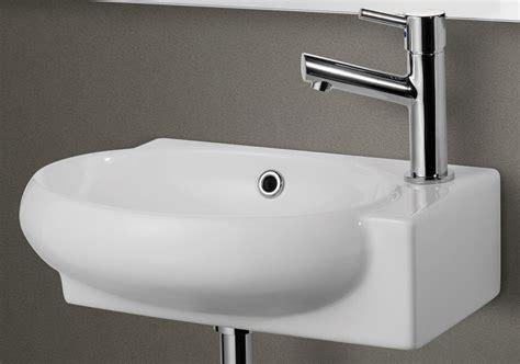 alfi ab107 small wall mounted ceramic bathroom sink basin