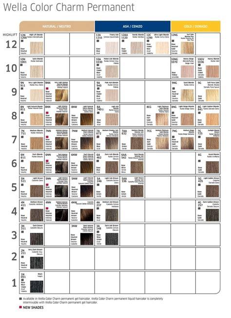 wella colors best 25 wella color charm toner ideas on ash