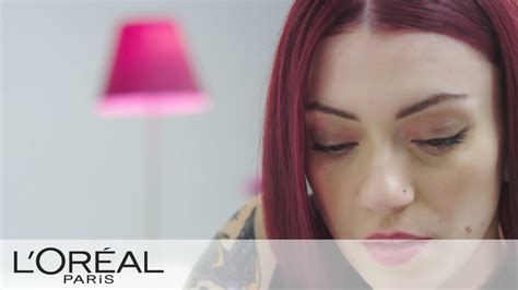 Violet Hair Don't Care By Fashion Designer